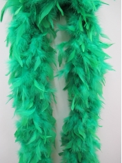 Green Feather Boa - Costume Accessories