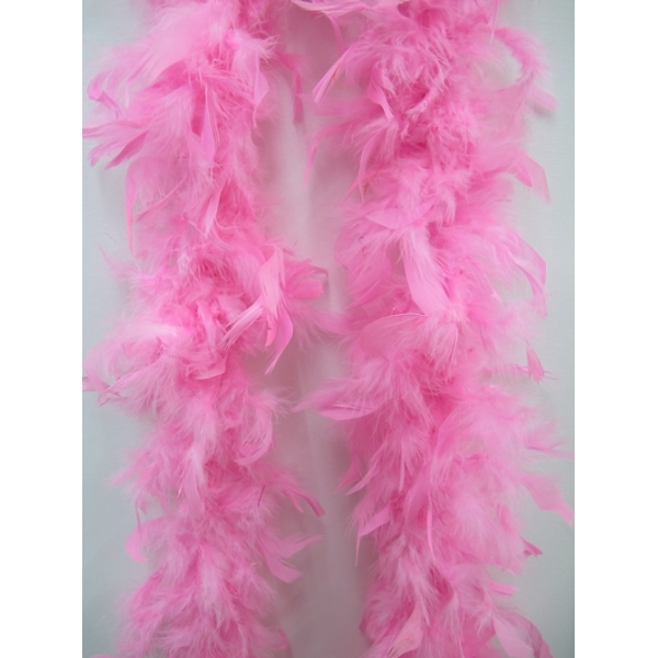 Light Pink Feather Boa Costume Accessories