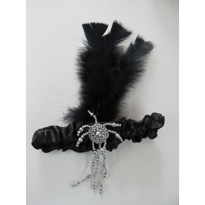 20's Black Headpiece - Costume Accessories