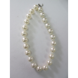 Short Flapper 20s Pearl Necklace - Costume Accessories