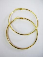 Large Gold Hoop Earrings - Jewelry