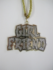 Girlfriend Necklace - Bling Necklace