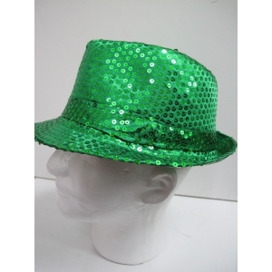 Trilby Sequin Green - Hat