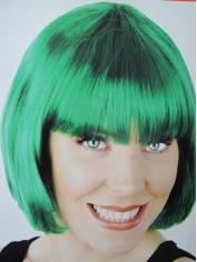 Green Bob Wigs