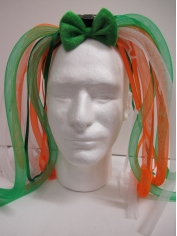 LightUp Green and Orange Noodles Headband