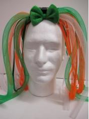 LightUp Green and Orange Noodles Headband