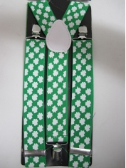 Shamrock Suspenders - St Patricks Day Costumes