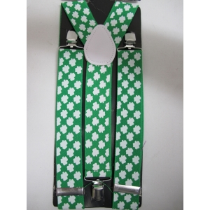 Shamrock Suspenders - St Patricks Day Costumes