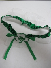 Shamrock Leg Garter - St Patricks Day Costumes