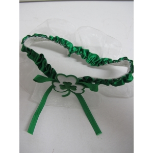 Shamrock Leg Garter - St Patricks Day Costumes