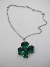 Shamrock Necklace - St Patricks Day Costumes