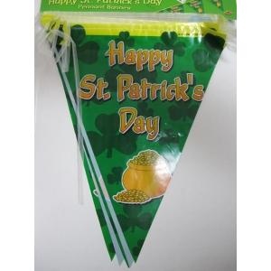 St Patricks Day Pennant Banner