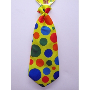Jumbo Polka Dot Clown Tie