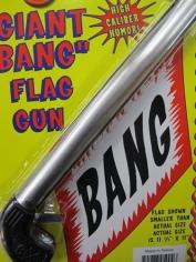 Giant Bang Flag Gun