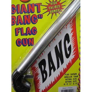 Giant Bang Flag Gun
