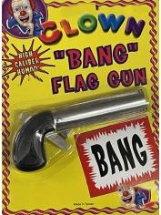Clown Bang Flag Gun