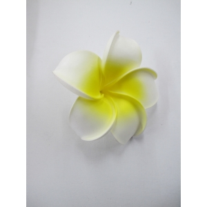 Large Foam Frangipani Headpiece