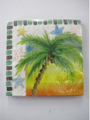 Tropical Napkins - Hawaiian Party Accessories