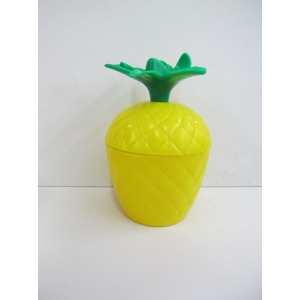 Pineapple Cups with Lid - Hawaiian Party Accessories