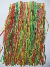 Rainbow Hula Skirt - Hawaiian Party Costumes