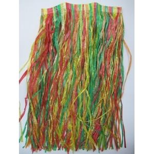 Rainbow Hula Skirt - Hawaiian Party Costumes