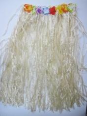 Natural Colour Hula Skirt - Hawaiian Party Costumes