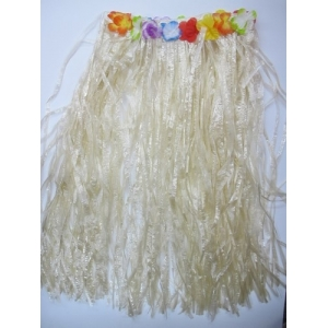 Natural Colour Hula Skirt - Hawaiian Party Costumes