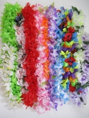 Hawaiian Flower Leis - Hawaiian Party Costumes