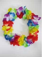 Jumbo Hawaiian Flower Leis - Hawaiian Party Costumes