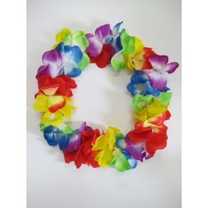 Jumbo Hawaiian Flower Leis - Hawaiian Party Costumes