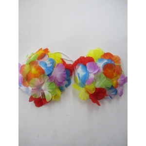 Flower Hawaiian Sea Shell Bra - Hawaiian Party Costumes