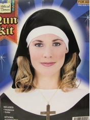 Nun HeadPiece And Collar