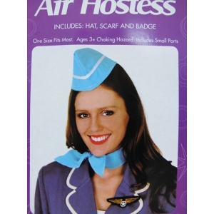 Air Hostess Costume Set - Headpiece