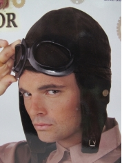 Pilot Hat and Goggles Set - Headpiece