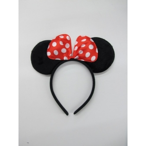 Mouse Ears with Bow - Animal Headpiece