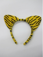 Tiger Ears - Animal Headpiece
