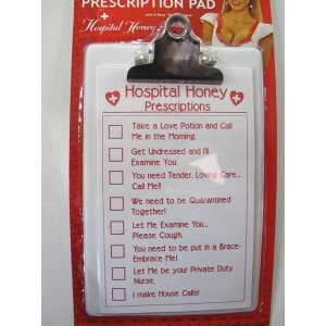 Nurse Prescription Pad - Costume Accessories