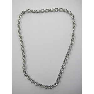 Long Silver Bling Necklace