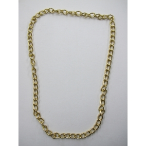 Long Gold Bling Necklace 2