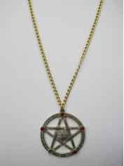 Gold Colour Gothic Medallion