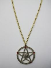 Gold Colour Gothic Medallion