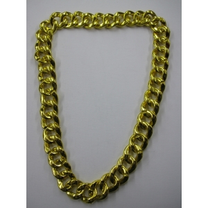 Long Gold Chunky Bling Necklace
