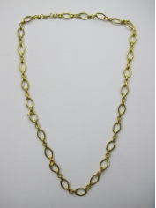Long Gold Bling Necklace 4