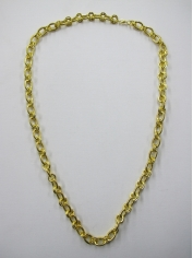 Long Gold Bling Necklace 5