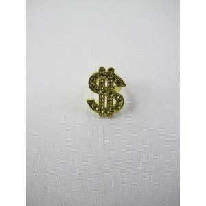 Gold Bling Dollar Sign Rings