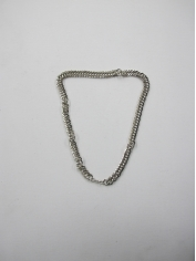 Short Silver Bling Necklaces