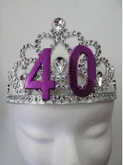 40th Birthday Tiara
