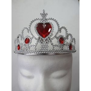 Birthday Tiara With Red Heart
