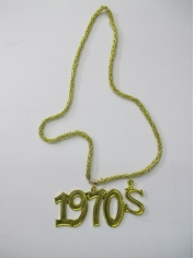 70s Sign Necklace