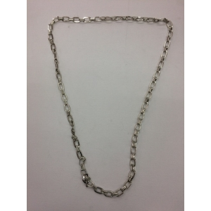 Long Silver Bling Necklace 2